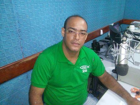 Pastor Alexandre Moura, presidente da legenda em Ipiaú