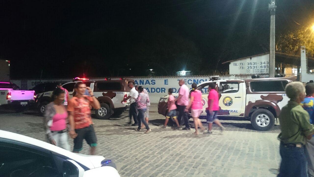 Público se dispersa na Getúlio Vargas após o incidente