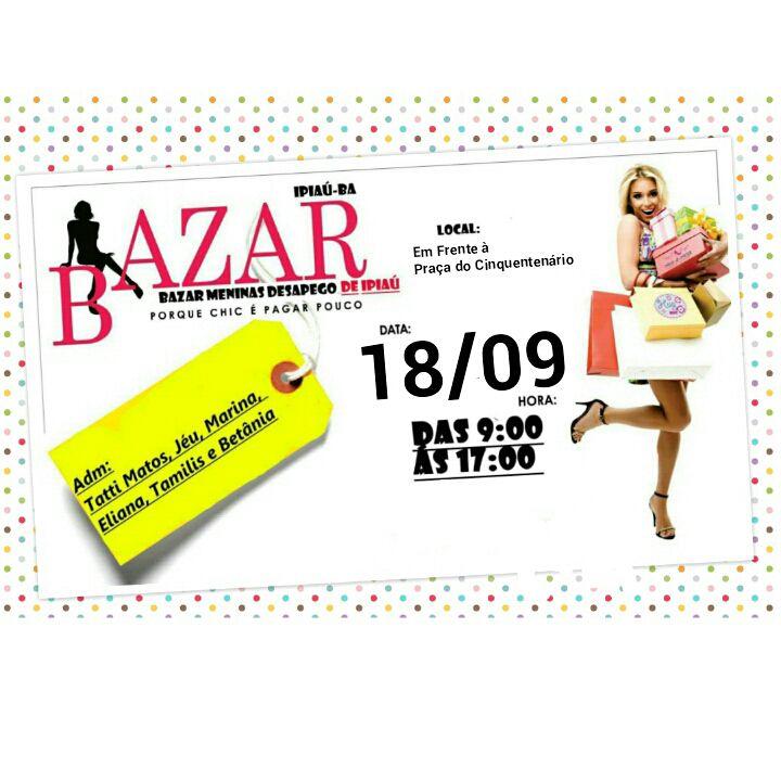 04baa06367a O Bazar Meninas Desapego é um evento que tem se tornado frequente e cada  vez mais atrai gente em busca de roupa boa e barata.