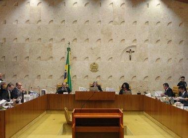 (Foto: Rosinei Coutinho / SCO / STF)