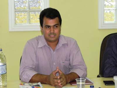 Terrence Lessa, prefeito de Ibotirama