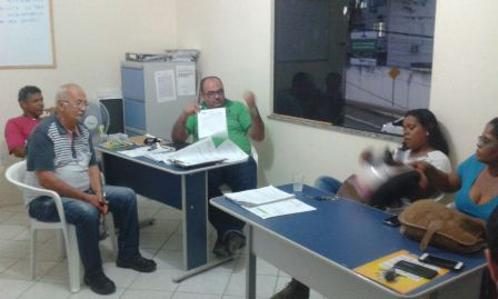 Direção do SIMIP em reunião com a vereadora Andréia