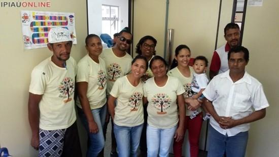 Voluntários do Fazer o Bem Faz Bem. (Fotos: Noel Rodrigues / Ipiaú On Line)