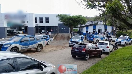 Quatro equipes da PC estiveram envolvidas nesta operação. (Foto: Noel Rodrigues / Ipiaú On Line)