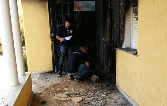 Os peritos estiveram no local e encontraram provas do crime. (Fotos: Noel Rodrigues / Ipiaú On Line)