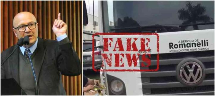 O deputado estadual Luiz Claudio Romanelli (PSB), líder do governo na Assembleia Legislativa do Paraná, foi vítima de 'fake news' (notícia falsa) cuja autoria é atribuída a militantes do Movimento Brasil Livre (MBL). A história terminou na polícia, como informou o próprio parlamentar.