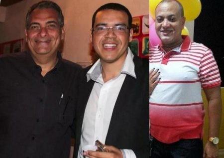 Jamil Ocké, Kácio Brandão e Enoch Andrade, respectivamente.