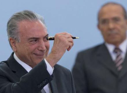 Temer vetou diversas diretrizes da Projeto (Foto: Lula Marques)