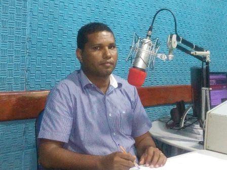 Secretario de educação do município, professor Alan Márcio Vitorino