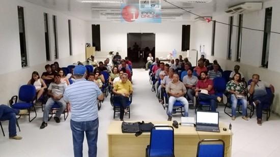 Produtores de Ipiaú e cidades circunvizinhas se fizeram presentes.