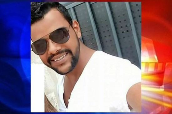 """Robson Batista de Lima foi atingido com vários disparos feitos por """"Naldo de Urbano"""", ainda foragido (Imagem: Divulgação)"""