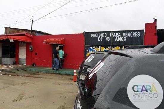 FORTALEZA, CE, BRASIL, 27-01-2018: Maior chacina da história do Ceará deixa varios mortos no bairro Cajazeiras. (Foto: Evilázio Bezerra/O POVO)