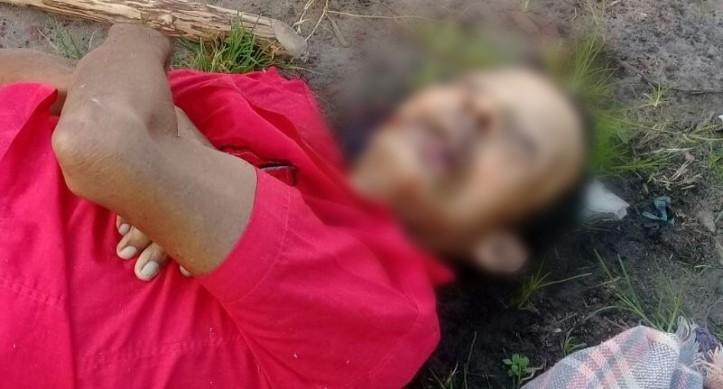 O corpo foi encontrado por populares na madrugada deste sábado / Foto: Dig Moral