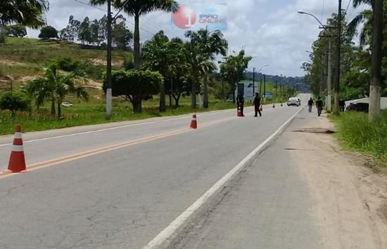 As abordagens tiveram início desde a sexta-feira (09). (Fotos Noel Rodrigues / Ipiaú On Line)