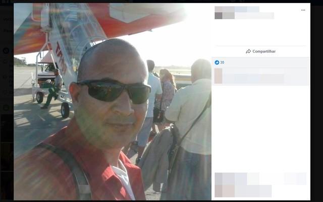 Sargento da PM morreu após troca de tiros com suspeitos (Foto: Reprodução/Facebook)